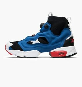sale retailer 0dd46 94085 REEBOK INSTAPUMP FURY OG ULTK * BLACK / DARK ROYAL BLUE / RED ...