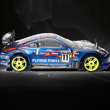 Gas Power HSP Drift Car 1/10 Scale Models 4wd  On Road Touring Racing Car