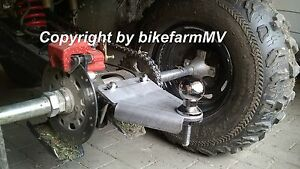 AHK UNI XL Grundplatte Anhängerkupplung Kugelkopf Quad ATV Traktor Rasentraktor