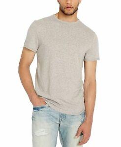 Buffalo-David-Bitton-Mens-T-Shirt-Gray-Size-Medium-M-Graphic-Tee-39-001