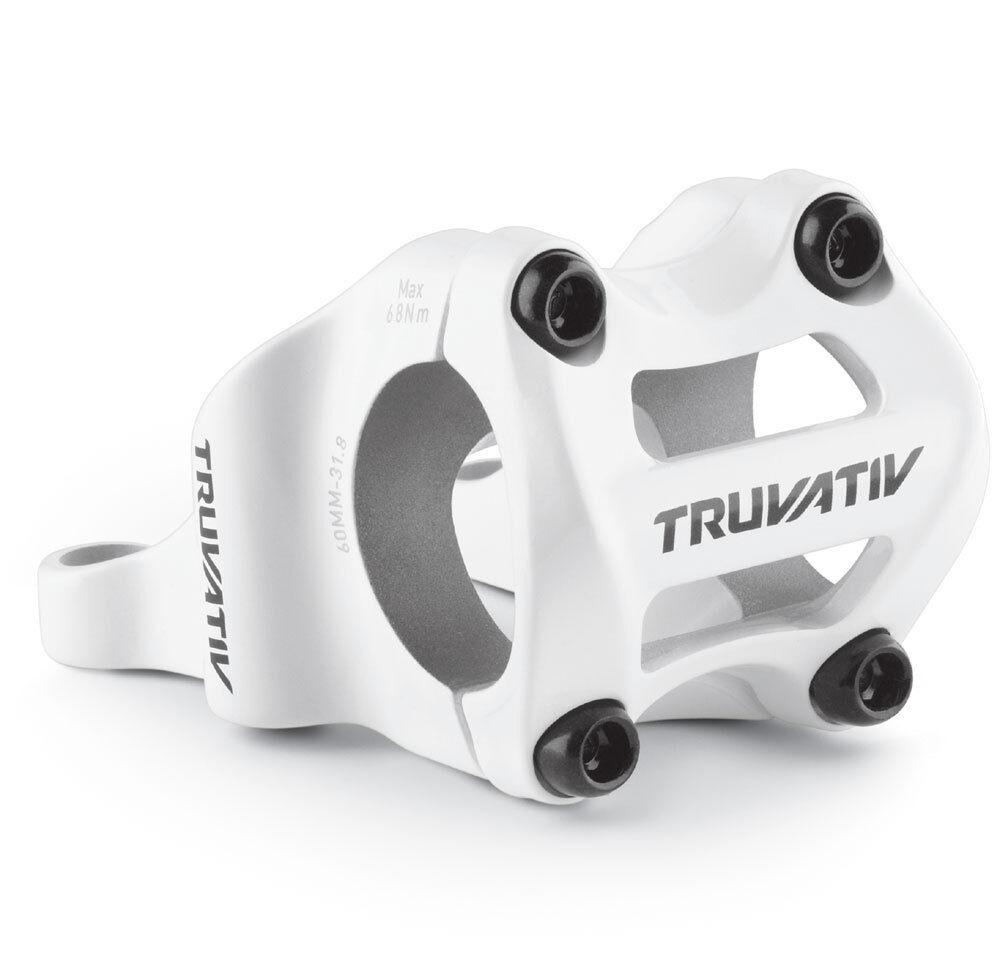 STEM DIRECT 60mm 0D 31.8 WHT TRUVATIV HOLZFELLER