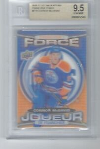 2016-17 Tim Hortons Collector's Series Franchise Force Connor McDavid #4 BGS 9.5