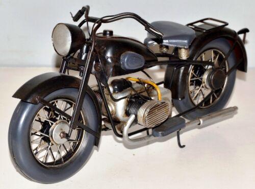 Motorrad um 1932 Blechmotorrad Blechmodell Tin Model Vintage Bike 30 cm 37409