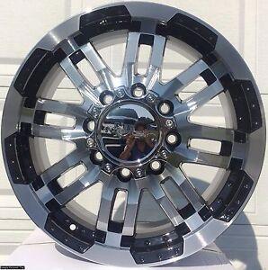 4-New-18-034-Warrior-Wheels-Rims-for-Dodge-Ram-2500-3500-8-lug-rim-103