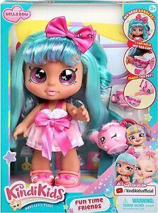Kindi-Kids-Fun-Time-Friends-Pre-School-10-034-Play-Doll-Bella-Bow-New-2021