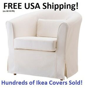 Ikea EKTORP TULLSTA Chair Armchair Cover Slipcover ...