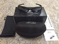 Oakley 24-433 Flak Jacket Xlj Polarized Matte Black Sunglasses