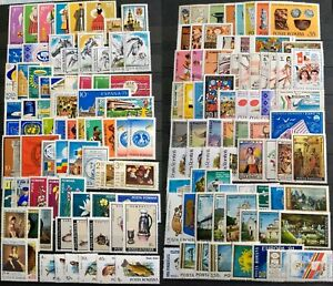 Worldwide Stamp Lots: Romania MNH - 150 Different Stamps in Full Sets