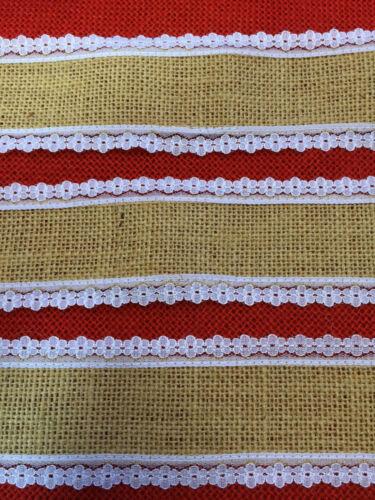 British Rustic Country Wedding Decor Natural Lace Hessian Burlap Jute Ribbon