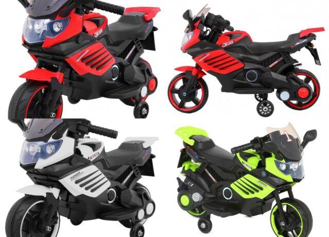 Elektrokindermotorrad Kindermotorrad auto Motorrad mit Musik-Räder EVA LEDERSITZ