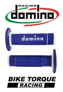 Yamaha-WR125-Domino-Diamond-Waffle-Grips-Blue-White