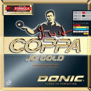 Donic Coppa Jo Gold Table Tennis Rubber Sale Ebay