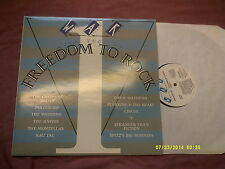 WAR GIVE YOU..THE FREEDOM TO ROCK LP-CHIEFS OF RELIEF,STRANGER THAN FICTION etc