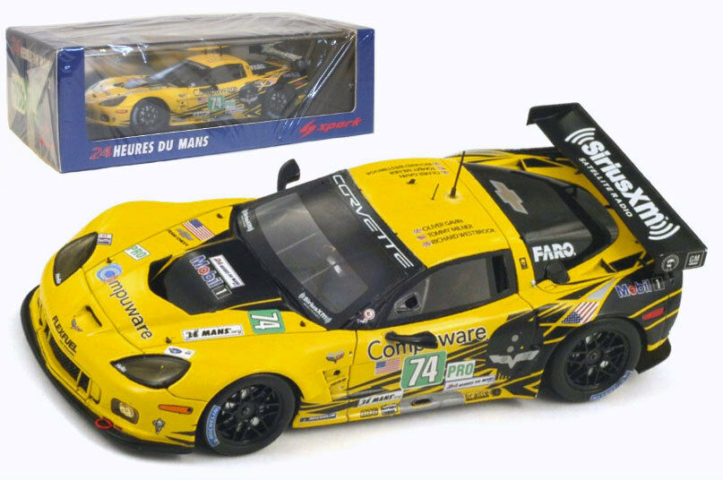 SPARK s3729 Corvette C6 Zr1   74  CORVETTE RACING  Le Mans 2012-scala 1/43
