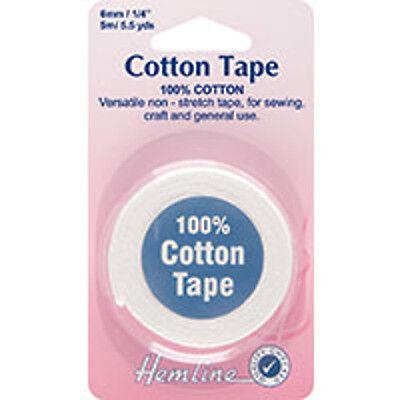 Black or white Stay Tape Hem Stay tape 6 mm Width Please Choose Length