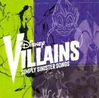 Disney Villains Simply Sinister Songs 0050087163204 CD
