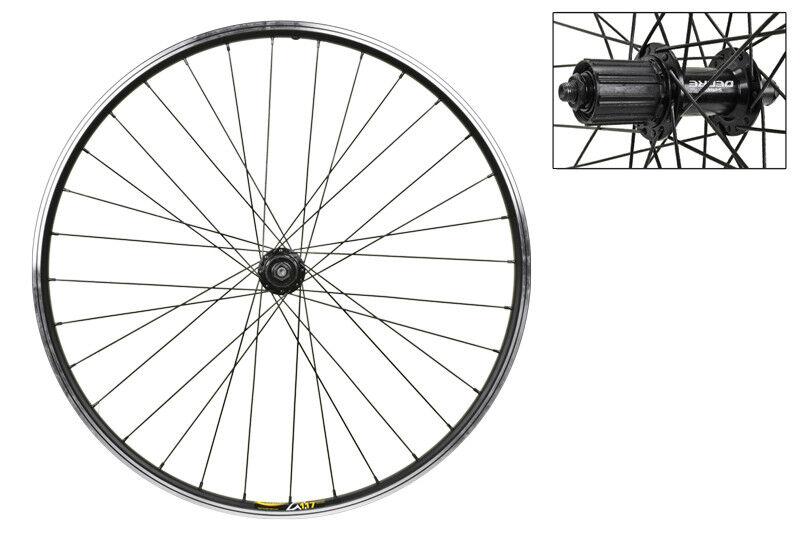 WM Wheel  Rear 26x1.5 559x19 Mav Xm117 Bk Msw 32 T610 8-10scas Bk 135mm Dti2.0bk
