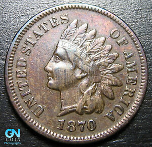 1870-Indian-Head-Cent-Penny-MAKE-US-AN-OFFER-B3449