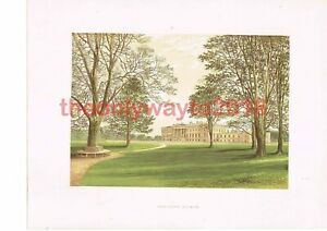 Hamilton-Palace-Lanarkshire-Scotland-Book-Illustration-c1880