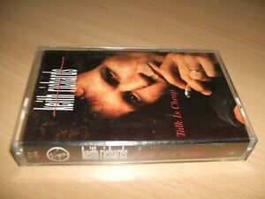 KEITH-RICHARDS-Talk-is-Cheap-Cassette-TCV-2554-Ex