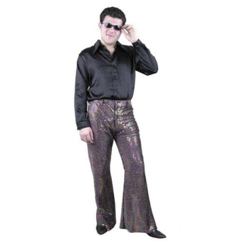 Adult Men/'s Sequin Disco Pants