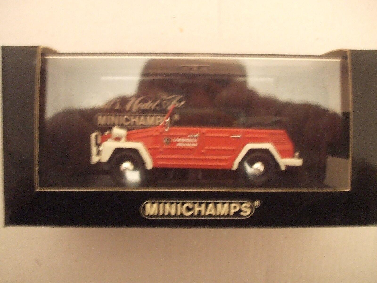 VW 181 TREKKER Cabriolet Fire Neuwied 1969 1 43 Minichamps