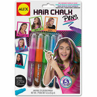 Hair Chalk Pens Washable Assorted Children's Arts & Crafts By Alex 238w