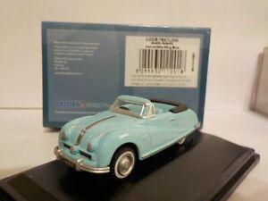 Model-Car-Austin-atlantic-Light-Blue-1-76-New