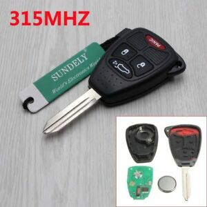 Remote Entry System Kits Replacement For 2006 2007 2008 2009 2010 Chrysler Pt Cruiser Key Fob