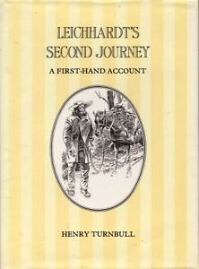 Leichhardt-s-Second-Journey-A-first-hand-account-BOOK-History-Australia-Ludwig