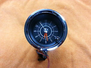 1967-Dodge-Charger-Console-Clock-NOS