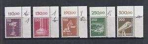 BRD-Mi-Nr-1134-1138-postfrisch-Bogenecke-Eckrand-Ecke-2