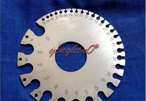 Wire Gauge AWG American Standard 0-36# Ga General Tool Gauging Wire Size