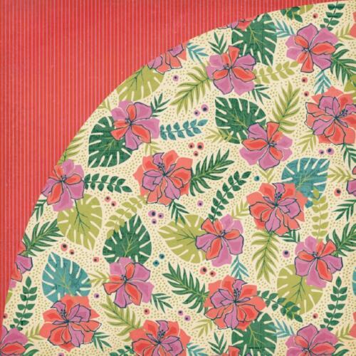 BasicGrey South Pacific 1x Scrappapier verschiedene Motive 30,5x30,5 cm