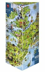 United Dragons Of Europe, Puzzle de 4000 pièces 4001689088545