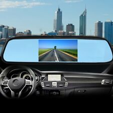 "Zone Tech 4.3"" TFT Car  LCD Screen Rear Monitor View Rearview DVD AV Mirror Kit"