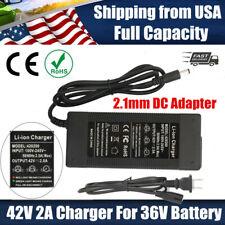 SANS E-Bike /& Scooter Li-ion Battery Charger # SSLC126V42 42V 3.0A