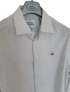 Mens-MAN-by-VIVIENNE-WESTWOOD-krall-long-sleeve-shirt-size-III-large-RRP-260
