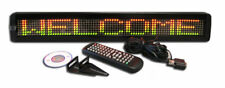 Tricolor Led Programmable Scrolling Message Display Sign Indoor 26x4 New