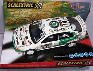 Scalextric 6124 Skoda Octavia Wrc Ouvrir Catalogne 2004 Llump Llamp Of Driver Mb