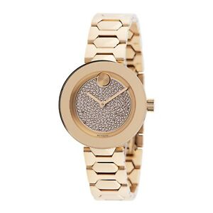 Movado 3600492 Women's Bold Gold-Tone Quartz Watch
