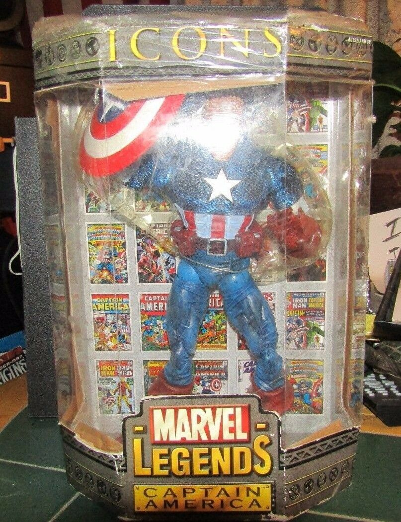 UNUSED,BUT OPENED MARVEL CAPTAIN AMERICA WITH SPECIAL BOOK  EVOLUTION OF AN ICON