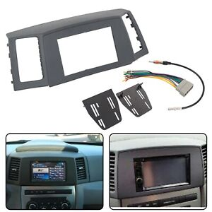 Double Din Radio Dash Kit Wiring Harness For 2005-2007 ...