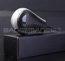 GENUINE CARBON AUTOMATIC Gear Shift Knob for BMW Z3 X3 X5 E53 E46 3 5 7 Z Series