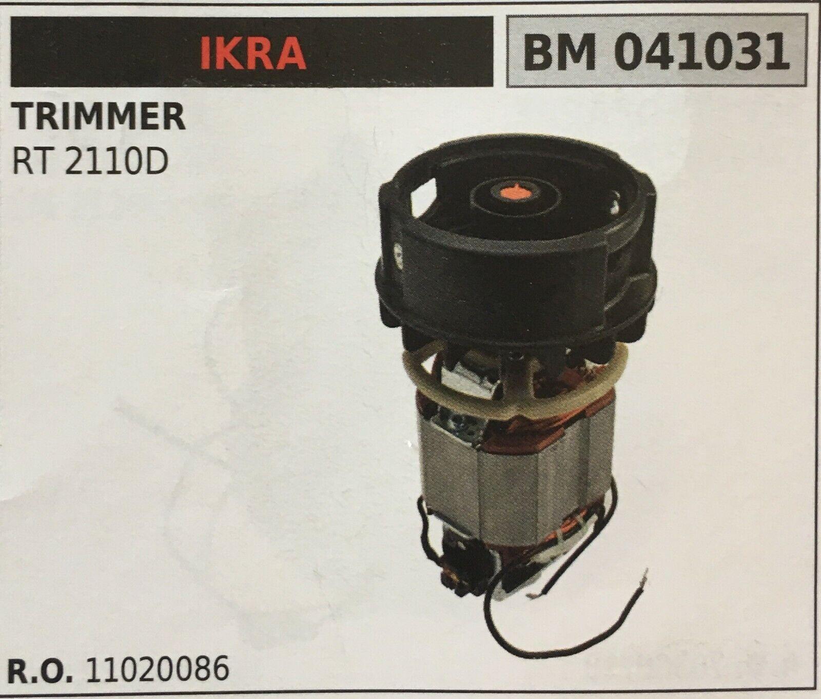 Motor Elektrisch Brumar Ikra BM041031 Trimmer Rt 2110D