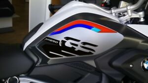 2 ADESIVI in gel 3D PROTEZIONI LATERALI RALLY compatibili per MOTO BMW GS R1250