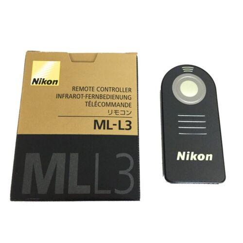 Télécommande infrarouge ML-L3 pour Nikon D7000 D5100 D5000 D3000 D90 D70 D60 D4