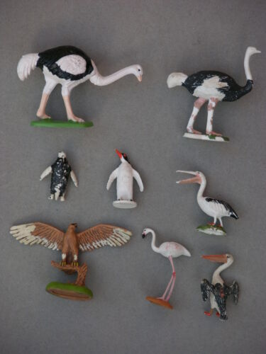 BIRDS MULTI-LISTING BRITAINS ZOO COLLECTION