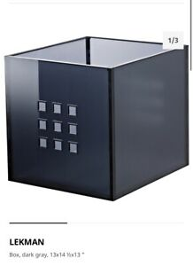 Ikea-Lekman-Storage-Organizer-Box-Fit-to-Kallax-Expedit-Shelf-New-Sealed-Cube