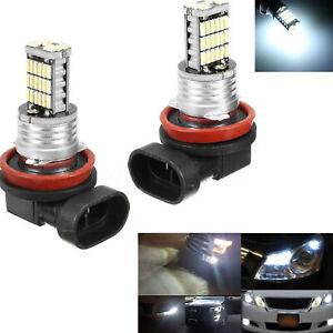 2x-h11-h8-h9-45smd-Bombillas-LED-Sin-error-Niebla-DRL-para-automovil